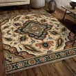 Product Image of Beige (4409) Traditional / Oriental Area Rug