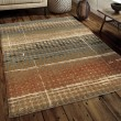 Product Image of Beige, Rust (4400) Rustic / Farmhouse Area Rug
