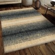 Product Image of Dark Blue (4411) Striped Area Rug