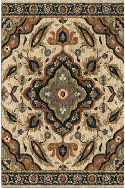 Beige (4409) Traditional / Oriental Area Rug