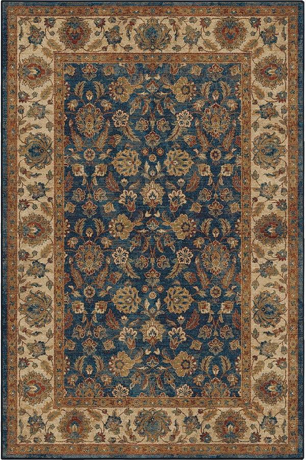 Navy (4505) Traditional / Oriental Area Rug