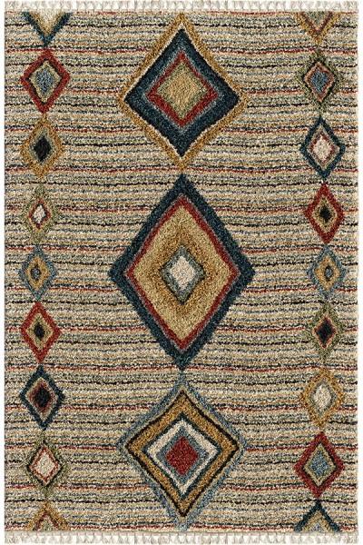 Beige (5006) Moroccan Area Rug