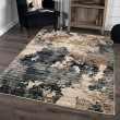 Product Image of Blue, Beige, Rust, Ivory (8233) Abstract Area Rug