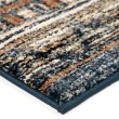 Product Image of Blue, Rust, Ivory (8227) Moroccan Area Rug