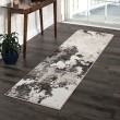 Product Image of Grey, Silver, Beige, White (8232) Abstract Area Rug
