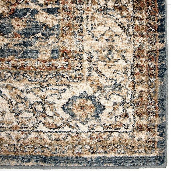 Blue, Ivory (8201) Traditional / Oriental Area Rug