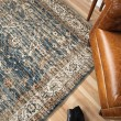 Product Image of Blue, Ivory (8201) Traditional / Oriental Area Rug