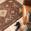 Product Image of Red, Brown, Beige (8217) Traditional / Oriental Area Rug