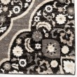 Product Image of Black, Grey, Silver, White (8215) Damask Area Rug