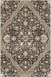Product Image of Traditional / Oriental Black, Grey, Silver, White (8215) Area Rug