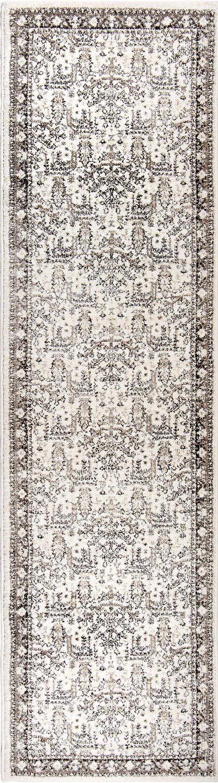 White, Ivory, Grey, Beige (8209) Southwestern / Lodge Area Rug