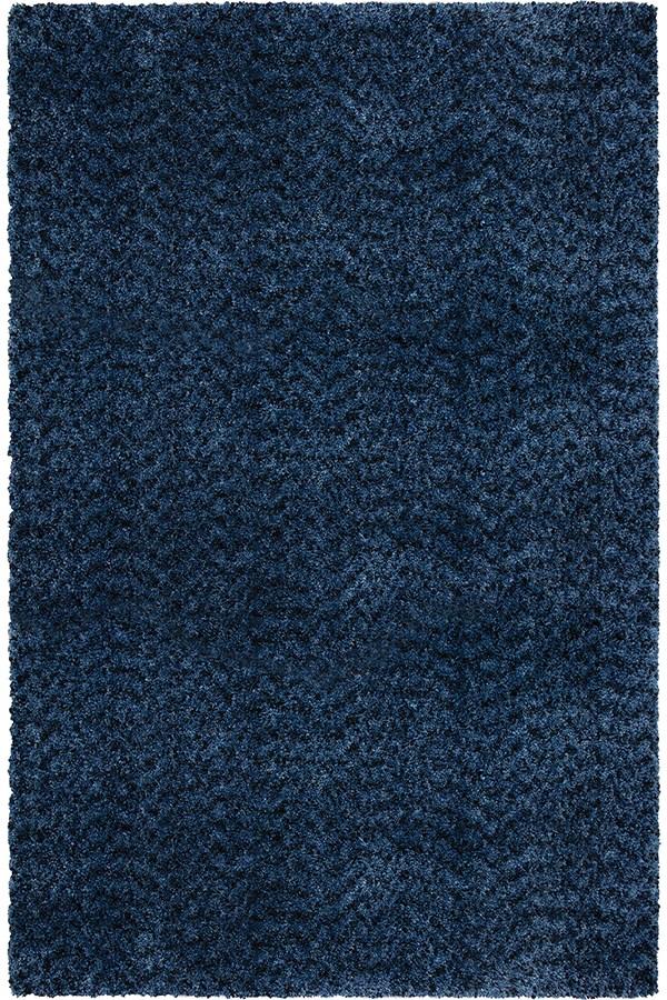 Blue (8304) Shag Area Rug