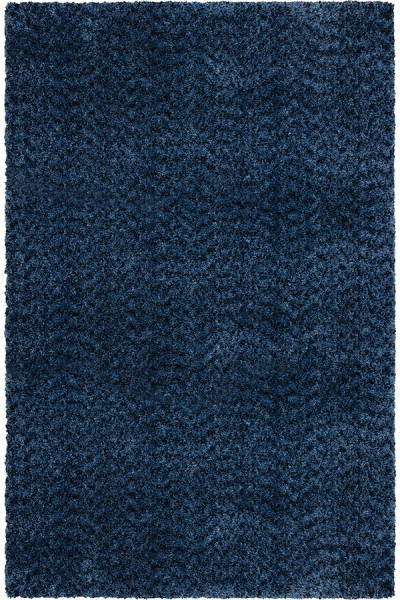 Blue (8304) Shag Area Rug