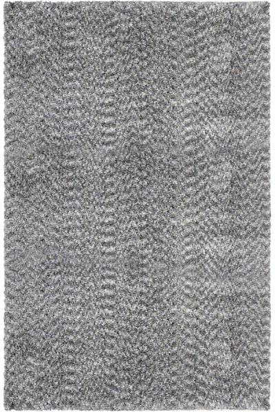 Grey (8301) Shag Area Rug