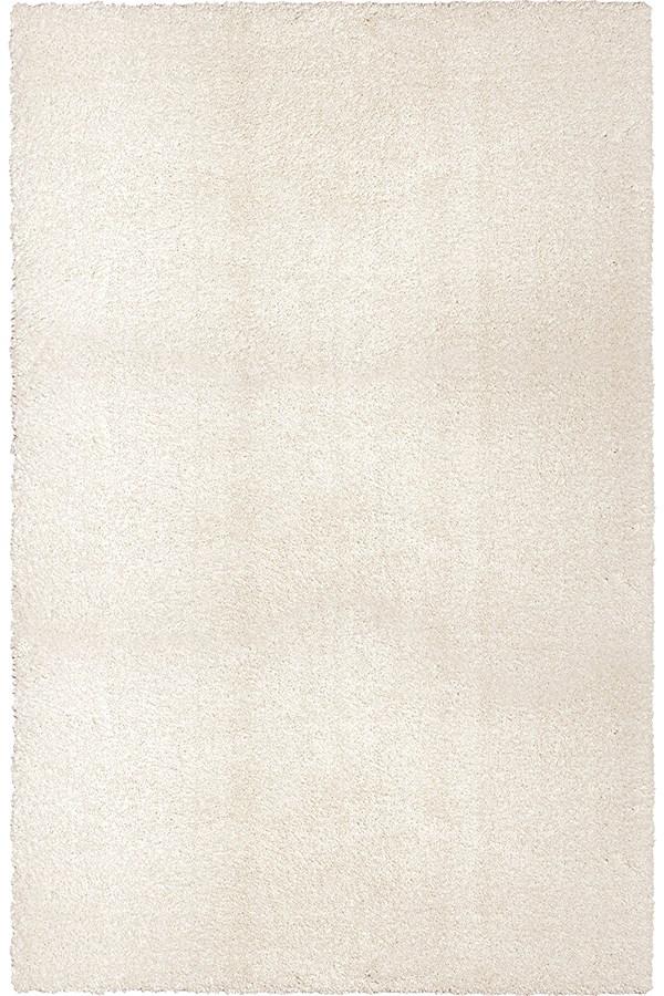 White (8302) Shag Area Rug
