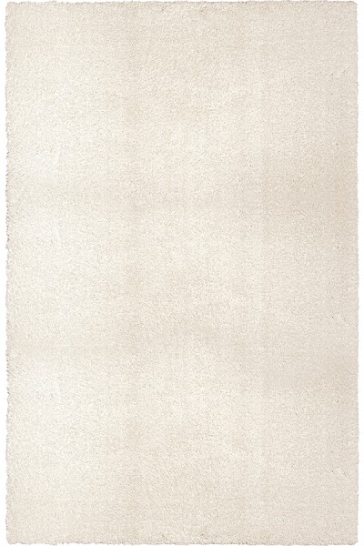 White (8302) Shag Area Rug