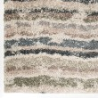 Product Image of Green, Blue (7016) Striped Area Rug