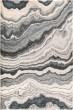 Product Image of Grey, Black (7010) Abstract Area Rug