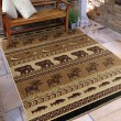 Product Image of Beige, Brown, Black (4602) Southwestern / Lodge Area Rug