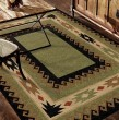 Product Image of Green, Brown, Red (4600) Southwestern / Lodge Area Rug