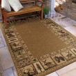 Product Image of Brown, Beige (4603) Southwestern / Lodge Area Rug