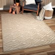 Product Image of Driftwood Geometric Area Rug