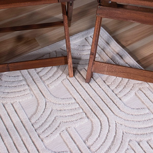Natural Contemporary / Modern Area Rug