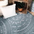 Product Image of Harbor Blue Moroccan Area Rug
