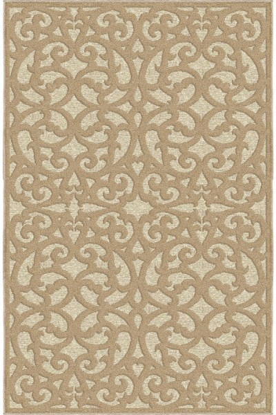 Beige (4701) Outdoor / Indoor Area Rug