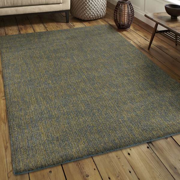 Blue Green Shag Area Rug