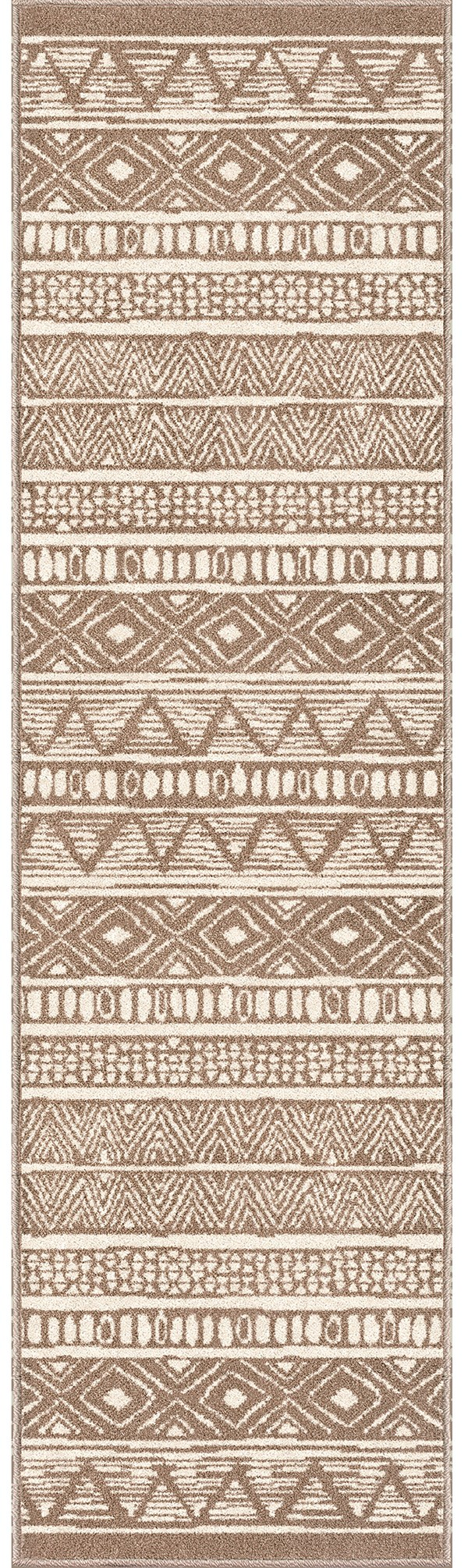 Beige Outdoor / Indoor Area Rug