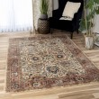Product Image of Brown, Red, Blue Bohemian Area Rug