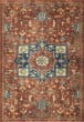 Product Image of Red, Tan, Blue (4508) Bohemian Area Rug