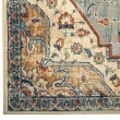 Product Image of Blue, Rust, Beige Transitional Area Rug