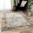 Product Image of Taupe, Rust Transitional Area Rug