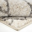 Product Image of Ivory, Grey (8420) Moroccan Area Rug