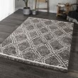 Product Image of Grey, White (8426) Moroccan Area Rug