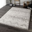 Product Image of Grey, Ivory Moroccan Area Rug