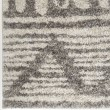 Product Image of Ivory, Black Moroccan Area Rug