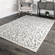Product Image of Grey, Ivory Outdoor / Indoor Area Rug