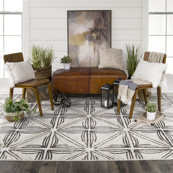 Natural (Agave) Transitional Area Rug