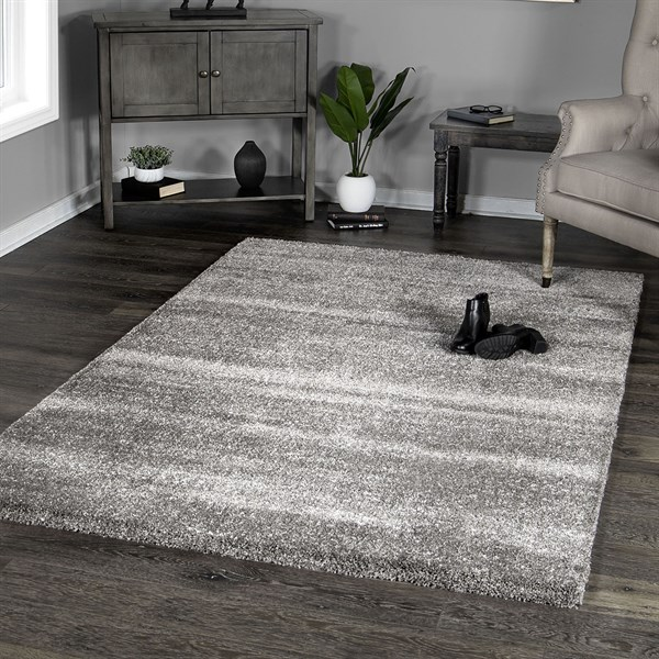 Grey (8403) Solid Area Rug