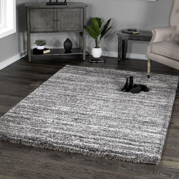 Grey (8410) Solid Area Rug