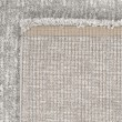 Product Image of Silver, Cream (8412) Solid Area Rug