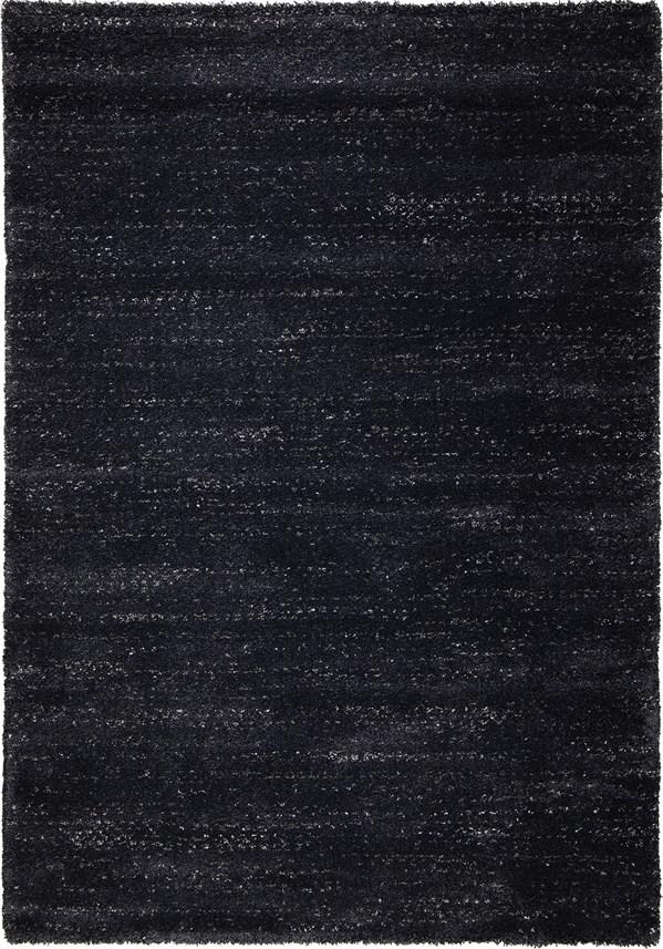 Black (8402) Solid Area Rug