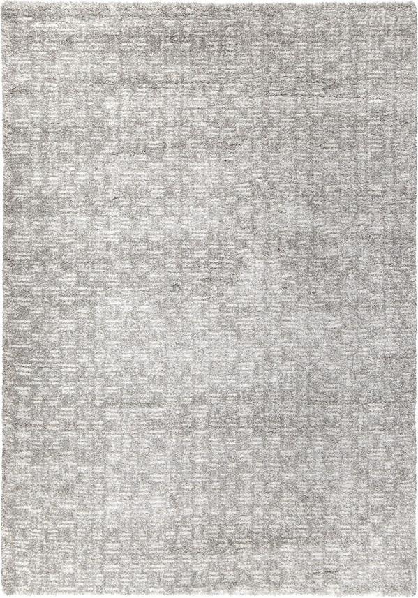 Silver, Cream (8412) Solid Area Rug