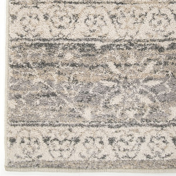 Beige, Grey, Brown (9007) Transitional Area Rug