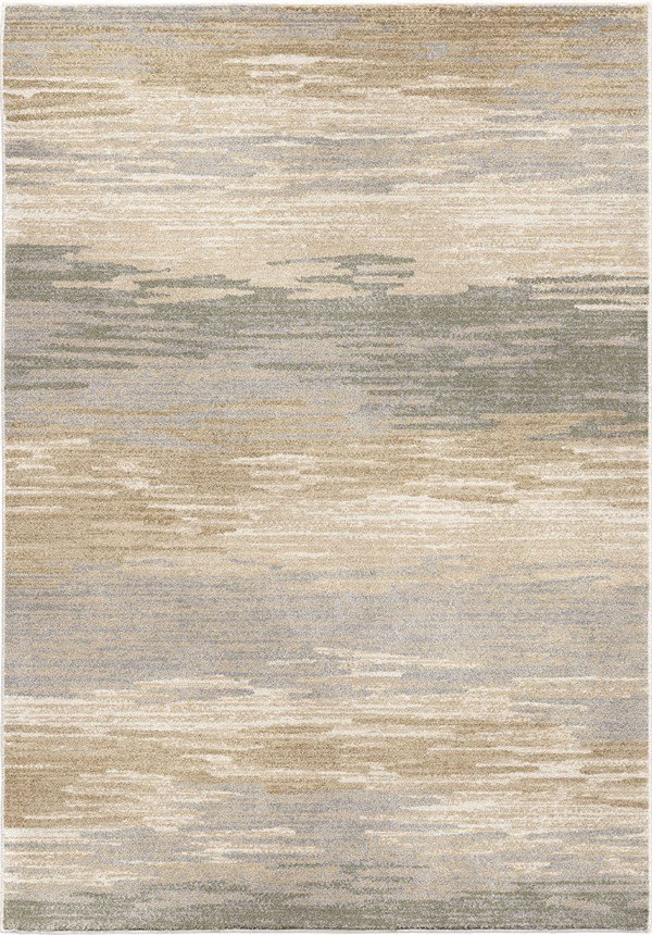 Beige, Brown, Grey (9004) Abstract Area Rug