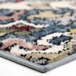 Product Image of Blue, Ivory, Tan Contemporary / Modern Area Rug