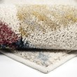 Product Image of Off White, Red, Green Contemporary / Modern Area Rug